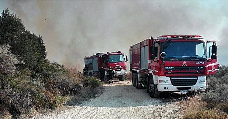 Πολύ υψηλός κίνδυνος πυρκαγιάς και την Κυριακή – Δείτε σε ποιες περιοχές