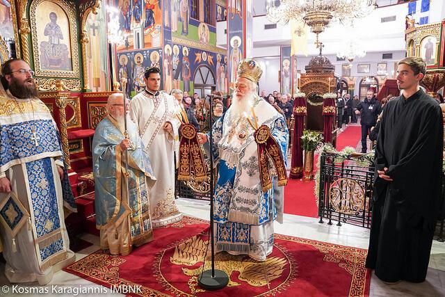 Η Αγρυπνία για την Παναγία Σουμελά στην Καλαμαριά Θεσσαλονίκης