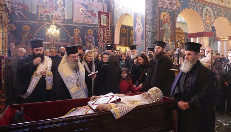 Η ταφή του μακαριστού Μητροπολίτη Σιατίστης Παύλου