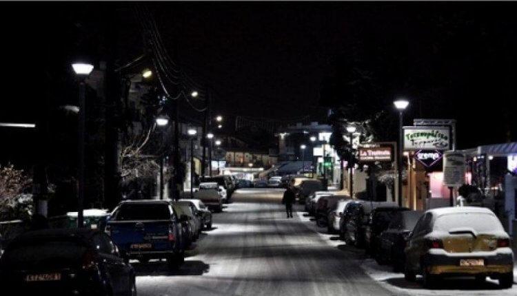 ΕΚΤΑΚΤΟ:Αποκλείστηκε η Ν. Μηχανιώνα Θεσσαλονίκης λόγω της σφοδρής χιονόπτωσης