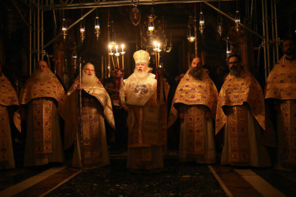 Αγιον Ορος: Πρωτοχρονιά στη Μονή Βατοπαιδίου