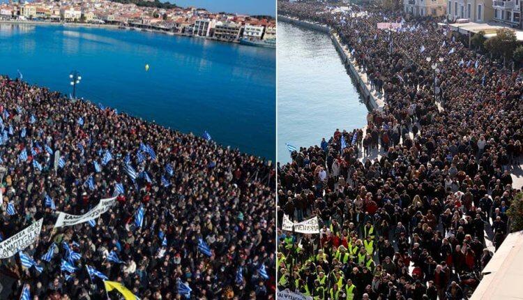 «Βούλιαξαν» Χίος, Σάμος, Λέσβος από χιλιάδες Έλληνες πολίτες για το Προσφυγικό