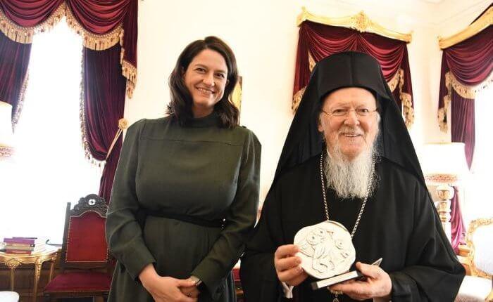 Κεραμέως προς Βαρθολομαίο : «Ο ελληνισμός κρατεί εν πολλοίς μέσω της Εκκλησίας »