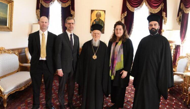 Η αντιπροσωπεία του Μουσείου της Βίβλου των ΗΠΑ στην Κωνσταντινούπολη
