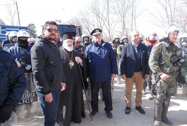ΕΒΡΟΣ: Ο ακρίτας Ιεράρχης Διδυμοτείχου, Ορεστιάδος και Σουφλίου κ. Δαμασκηνός στην πρώτη γραμμή των γεγονότων