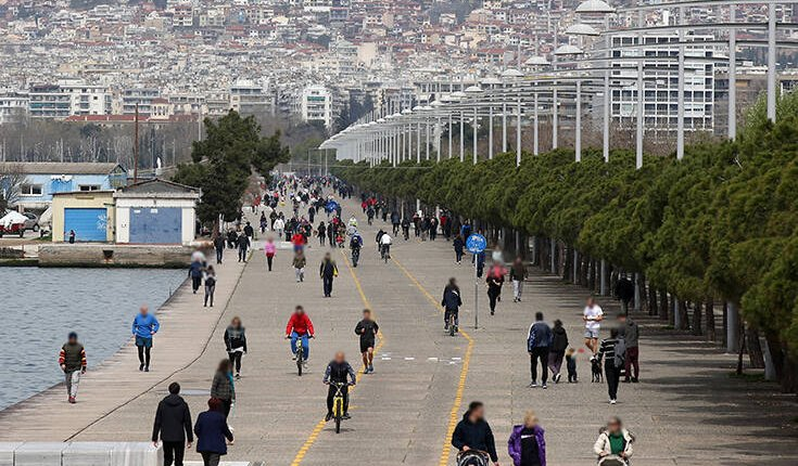 Περιορισμός της κυκλοφορίας στην παραλία της Θεσσαλονίκης