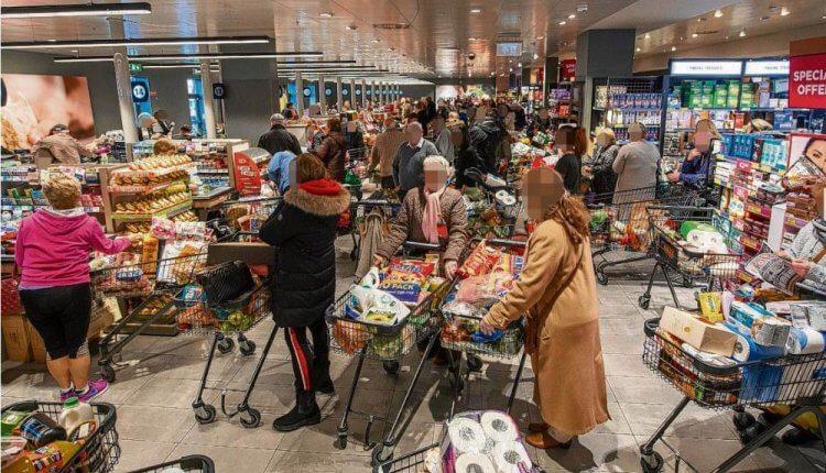 Κορωνοϊός: Έλεγχος εισόδου στα σούπερ μάρκετ
