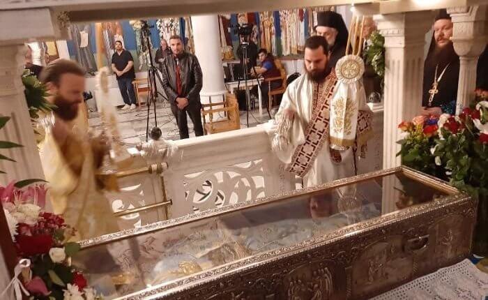 Αγ.Ιωάννης ο Ρώσος : Μεγαλοπρεπής εορτασμός στον Ναό του στην Εύβοια