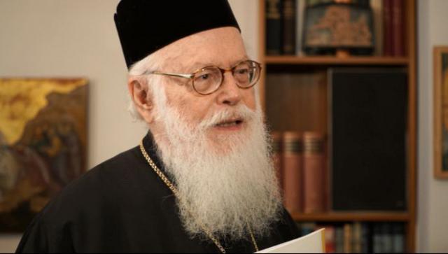 Στο στόχαστρο Αλβανών εθνικιστών μπήκε ο Αρχιεπίσκοπος Αλβανίας κ.κ. Αναστάσιος