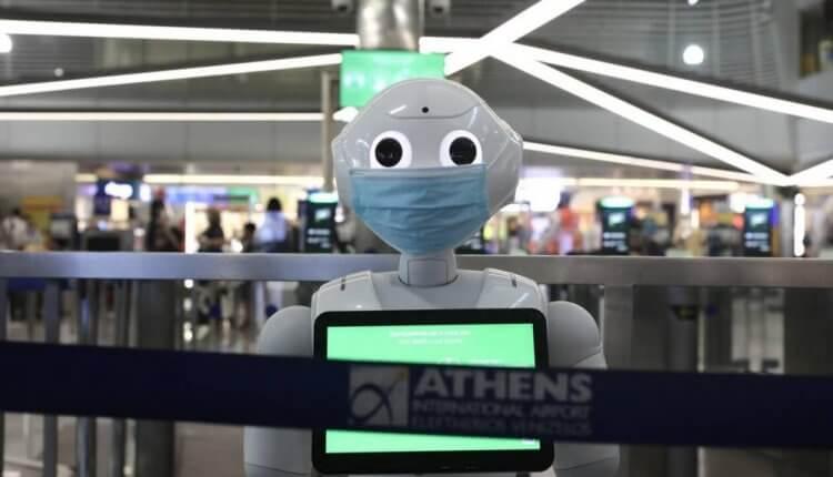Ρομπότ στο Ελ. Βενιζέλος για τον covid-19