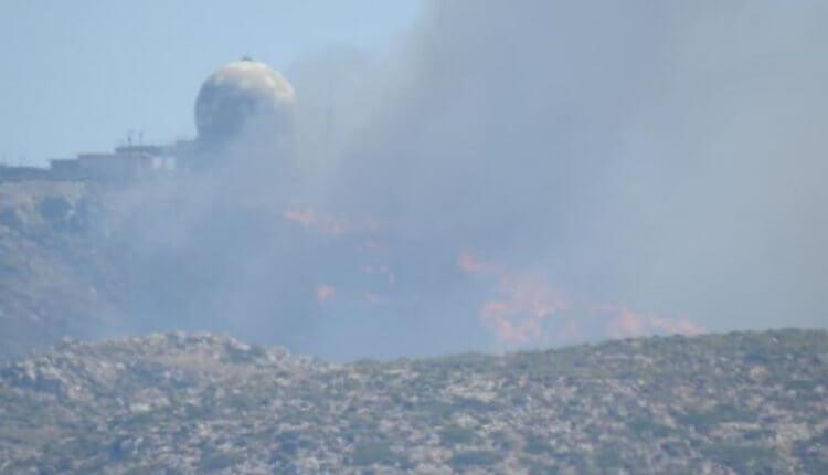 Χανιά: Μαίνεται η μεγάλη φωτιά