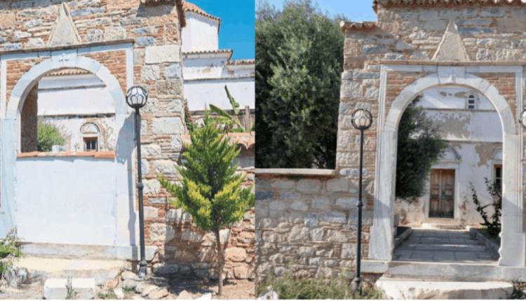 Τουρκικό χτύπημα σε εκκλησία! Έχτισαν την είσοδο