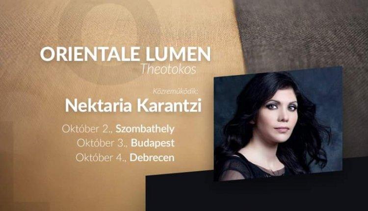 Η Νεκταρία Καραντζή με τη χορωδία του St. Efraim της Βουδαπέστης σε περιοδεία στην Ουγγαρία