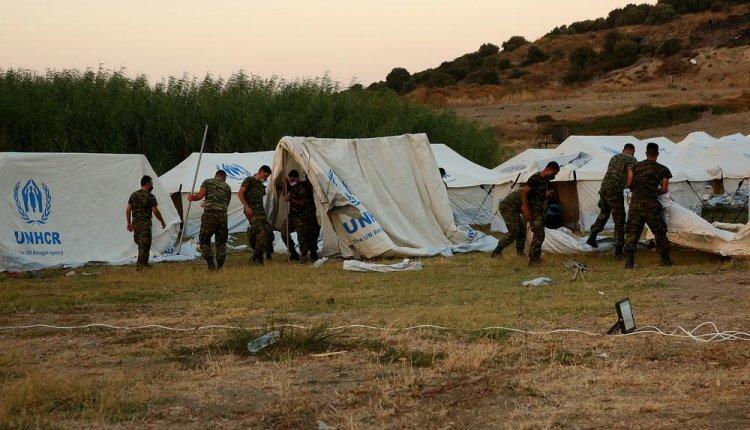 Λέσβος: Μεταφέρθηκαν στη νέα δομή του Καρά Τεπέ 9000 μετανάστες