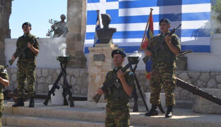 ΚΑΣΤΕΛΟΡΙΖΟ: Ο Εθνικός Ύμνος ακούστηκε μέχρι την Τουρκία/VIDEO