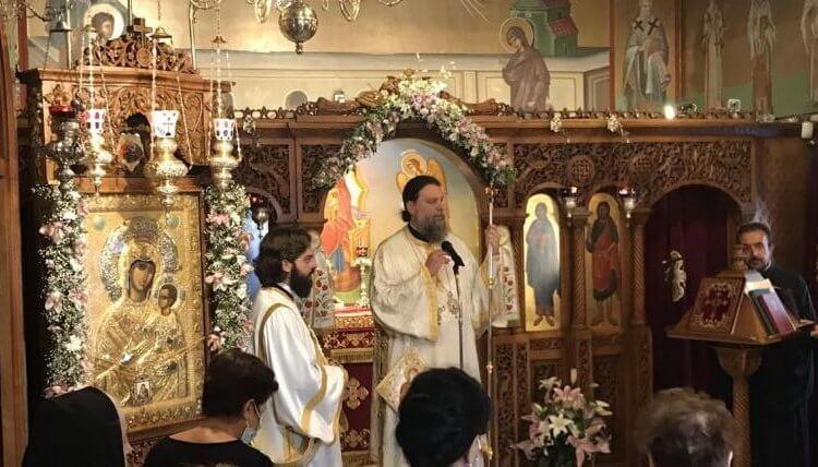 Εορτή Συνάξεως Παναγίας «Βηματάρισσας» στη Νέα Ιωνία