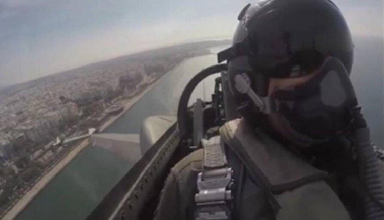 """Το συγκλονιστικό μήνυμα του πιλότου του F-16 """"Ζευς"""",για την Εθνική Εορτή της 28ης Οκτωβρίου"""