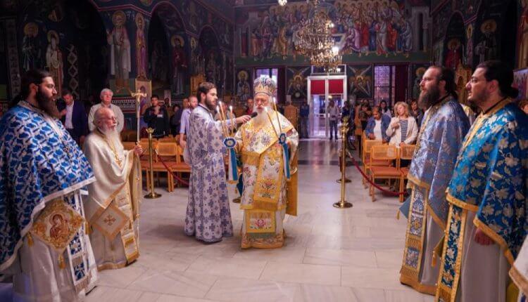 Ιερά Αγρυπνία στην Παναγία της Γοργοεπηκόου στη Νάουσα