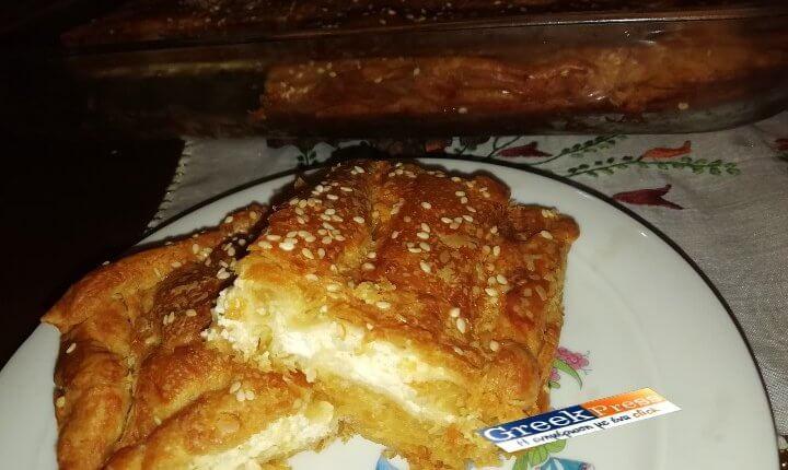 Υπέροχη Πίτα με τυριά