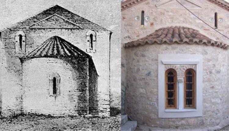 Το εκκλησάκι που έψελνε ο Παπαδιαμάντης στο Μοναστηράκι