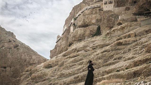 Το Μοναστήρι των Πειρασμών, όπου πειράχθηκε ο Χριστός από τον σατανά