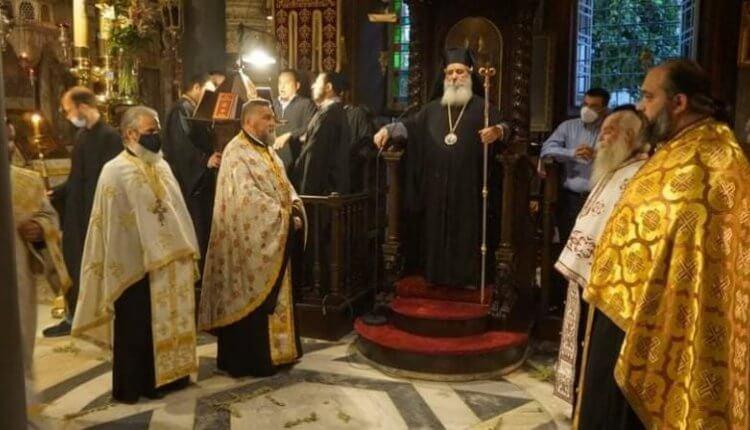 Ιερά Αγρυπνία για την Απόδοση της εορτής της Κοιμήσεως της Θεοτόκου στην Ύδρα