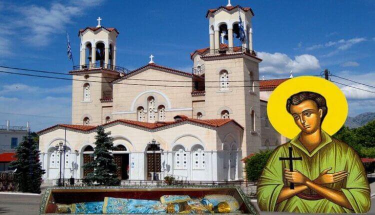 Φωτιά στην Εύβοια: Νέα λιτανεία στο Προκόπι – Θα περιφέρουν το σκήνωμα του Οσίου Ιωάννου του Ρώσσου