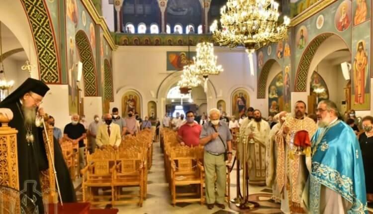 Η εορτή της Κοιμήσεως της Θεοτόκου στην Θεσσαλονίκη
