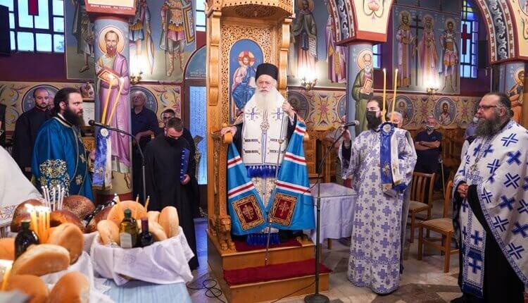 Βεροίας Παντελεήμων: Η μεγαλύτερη τιμή είναι η ζωή μας να ταυτίζεται με την ζωή της Παναγίας και των Αγίων