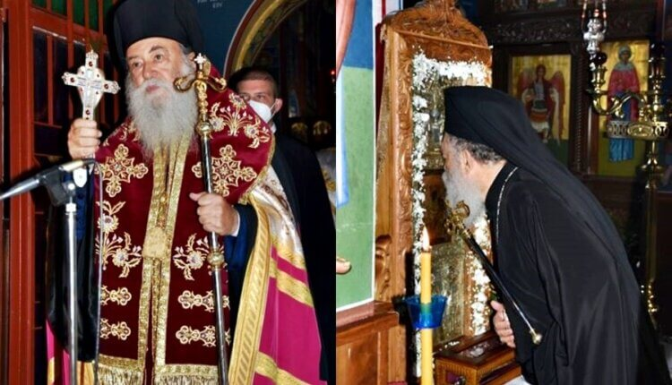 Πανηγύρισε η Μονή Παναγίας Γοργοεπηκόου Ψαχνών